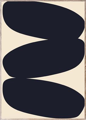 Affiche Solid Shapes I
