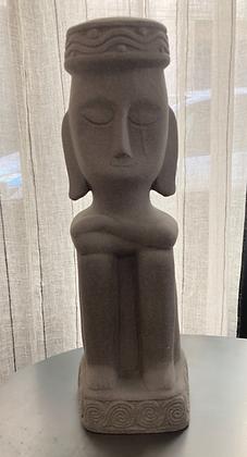 Statue bouda terre cuite