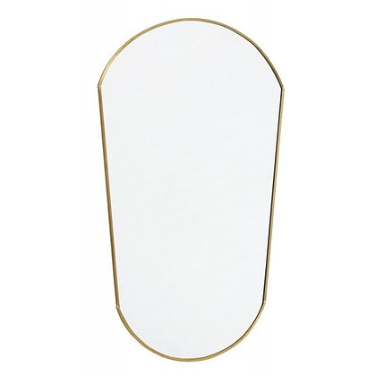 Miroir Ovale golden