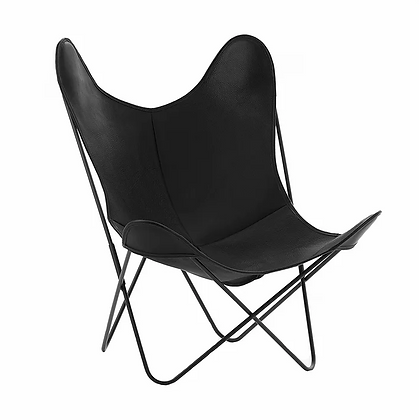 Fauteuil AA cuir lisse