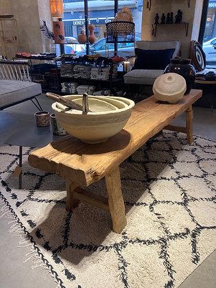 Table/Banc vintage en bois