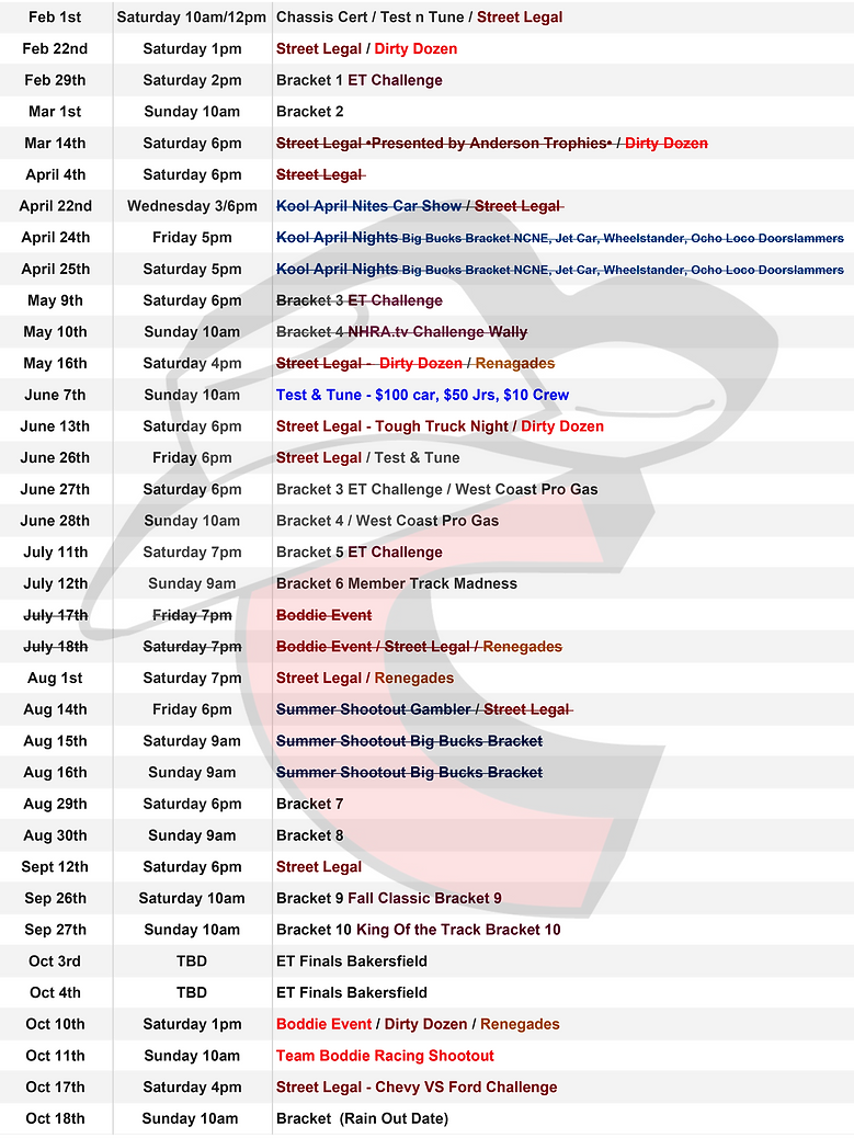 RDS Schedule 2020 - Daily schedule.png