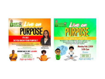 Live On Purpose Registration