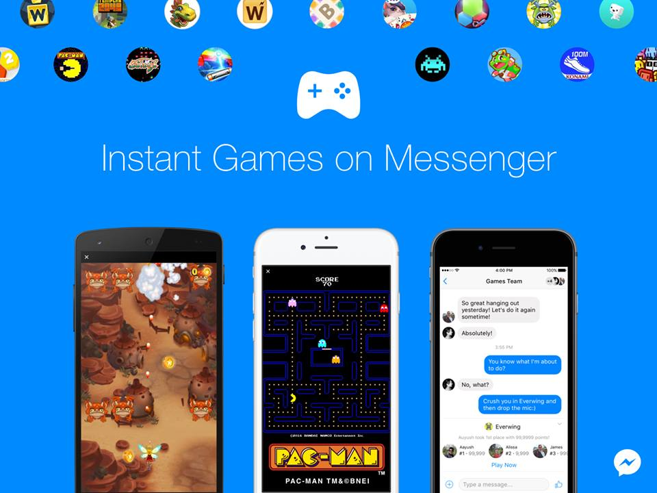 Instant Games on Messenger