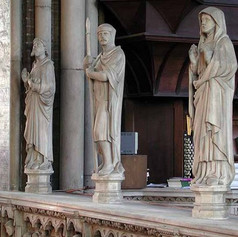Statues on the Rood Screen