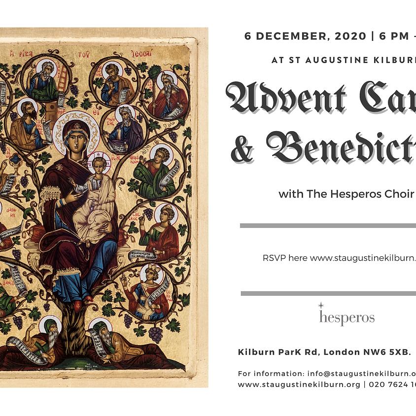 Advent Carols & Benediction with Hesperos Choir