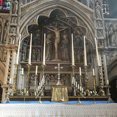 The sanctuary The High Altar front