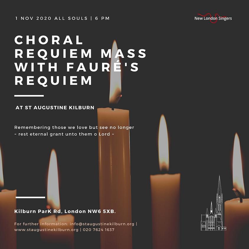 Choral Requiem Mass With Fauré's Requiem