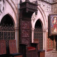 The sanctuary throne