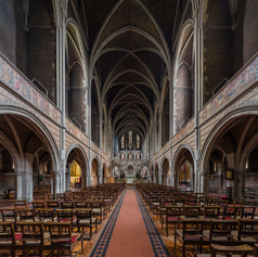 The nave looking east Large