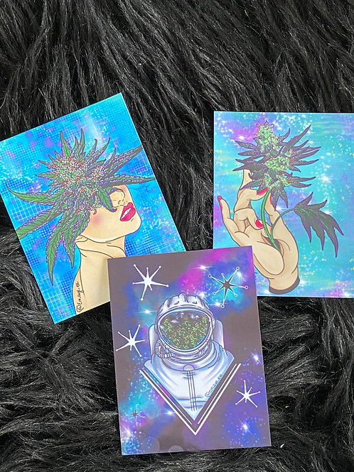 Galaxy sticker pack