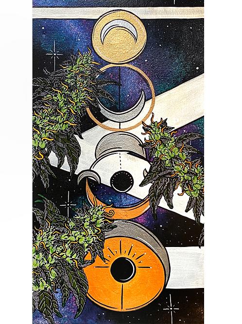 The mooniverse print