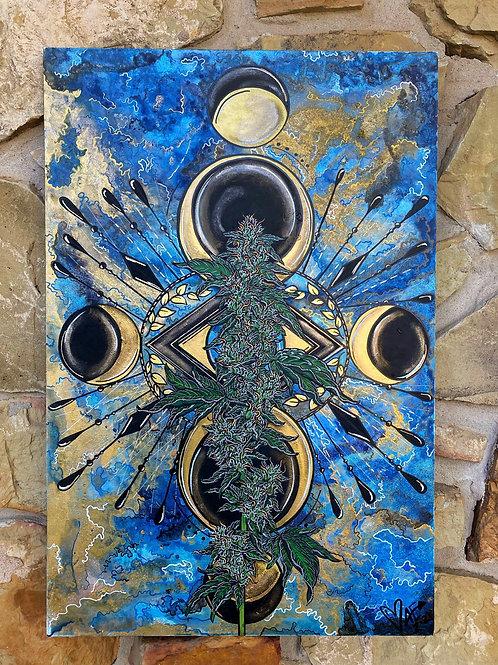 Diosa De La Luna Azul