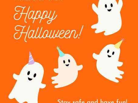 Happy Halloween - 10/31/2020