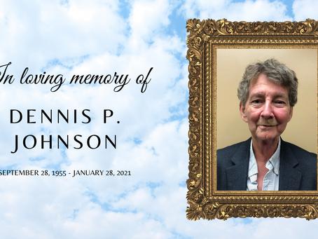 Dennis P. Johnson - 2/1/2021