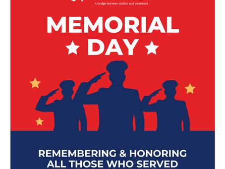 Memorial Day - 5/31/2021