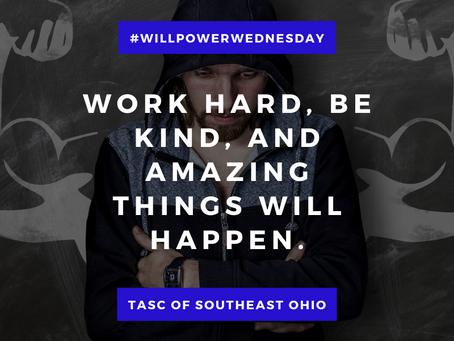 Willpower Wednesday - 3/3/2021