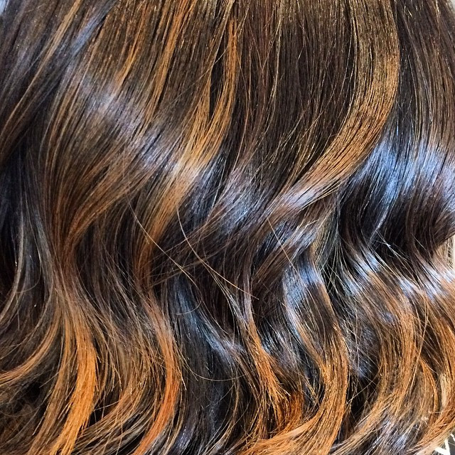 Instagram - Winter warmth 💁🏽beautiful copper and caramel tones warm up a cold