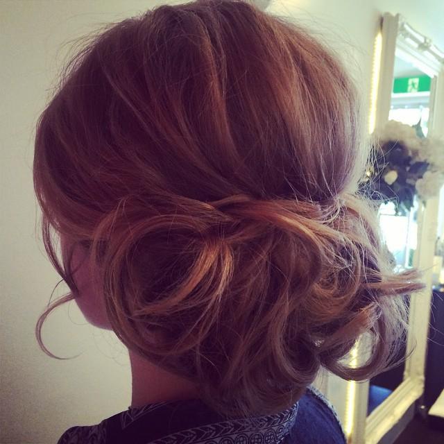 Instagram - #frontroomhair #coogee #weddinghair #upstyle #hair #hairinspo
