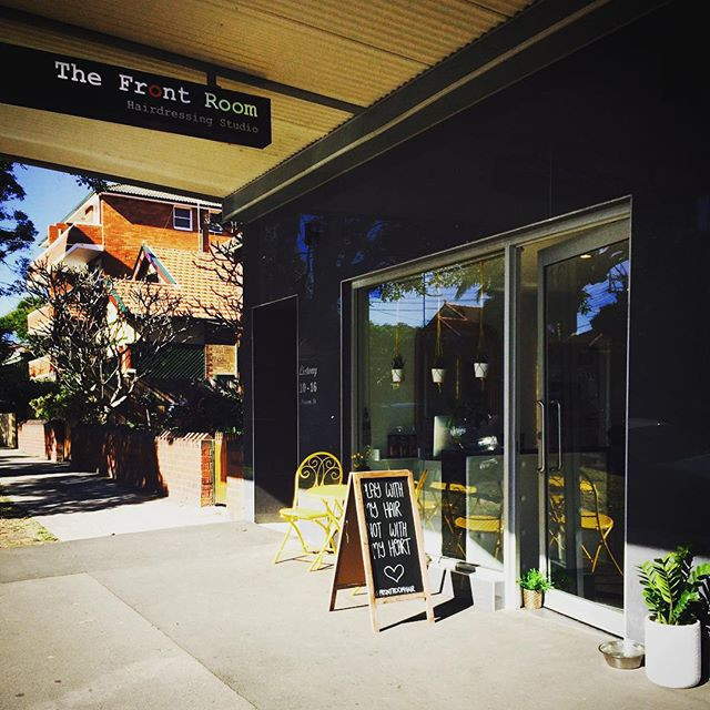 Fun in the sun today ☀️☀️☀️ #frontroomhair #coogee #bondi #hairdressing #salon #sunshine #trending #readyforsummer #love
