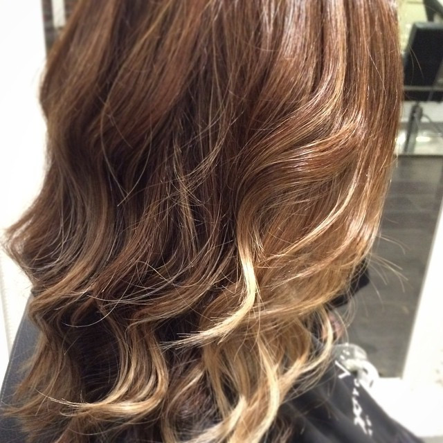 Instagram - Balayage refresh and a chop! 💁🙅 @becdredge is ready for Mexico! #f