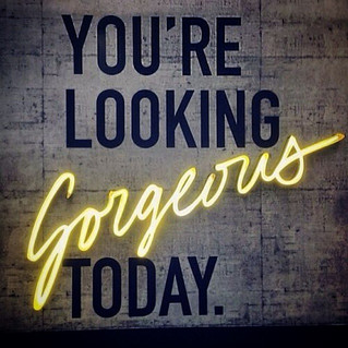 Look good feel gorgeous!  It's Friday and we think you should know you're looking gorgeous t