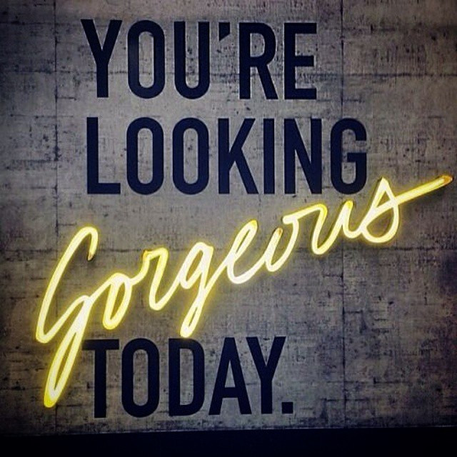 Instagram - Yes we are looking at you 💛💛 happy Monday everybody #frontroomhair