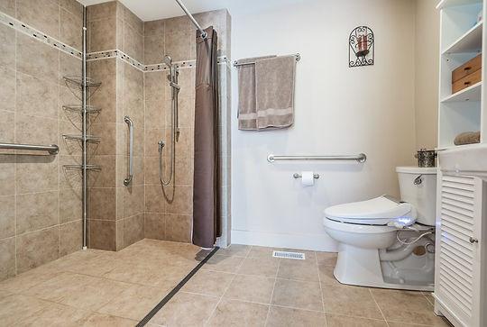 handicap accessible shower