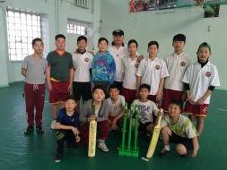 Pitching Cricket to Mongolia