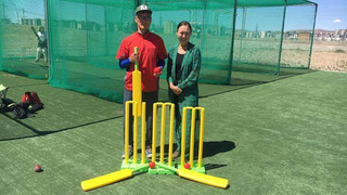 Inspire Mongolia supports Cricket Mongolia with kit and school uniforms