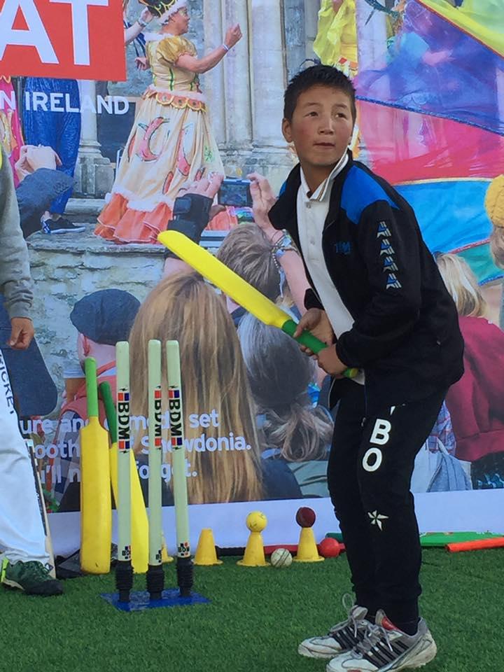 Mongol cricket talent