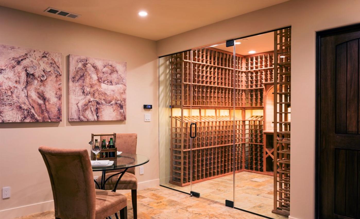 temperature controllin wine cell
