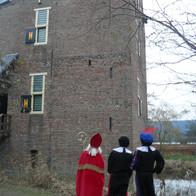 Bij het kasteel van Sinterklaas