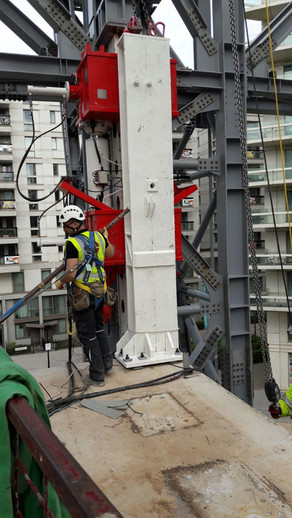 steel construction London