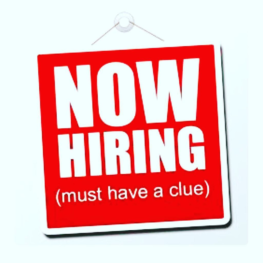 Now hiring self-motivated hairstylist who already has a clientele who is willing to join our upbeat team. Must have a license.