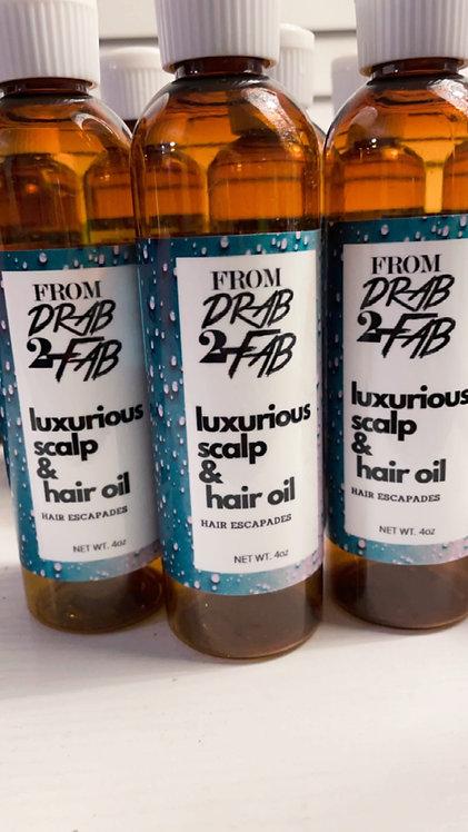 Luxurious Scalp Oil