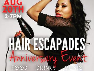 HAIR ESCAPADES ANNIVERSARY EVENT