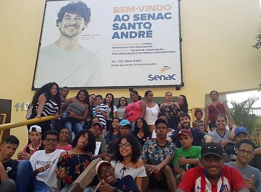 Formatura dos Jovens Visionários no SENAC