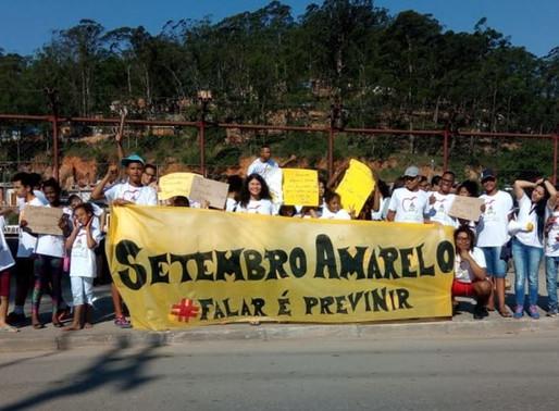 1ª Caminhada Irmã Marli - Setembro Amarelo: Falar é Prevenir!