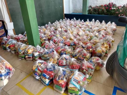 Distribuição de Cestas de Alimentos