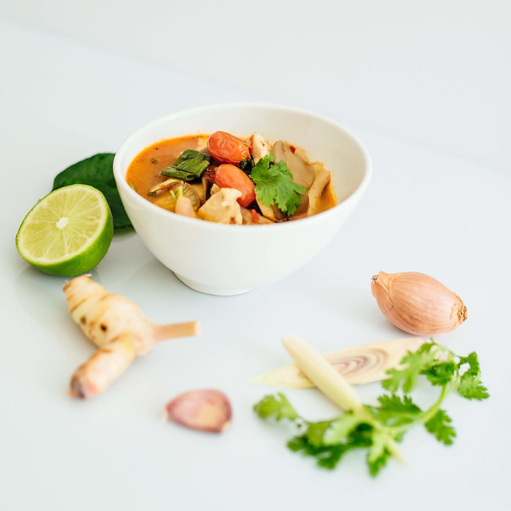 Soupe asiatique - Ma Cuisine Thai