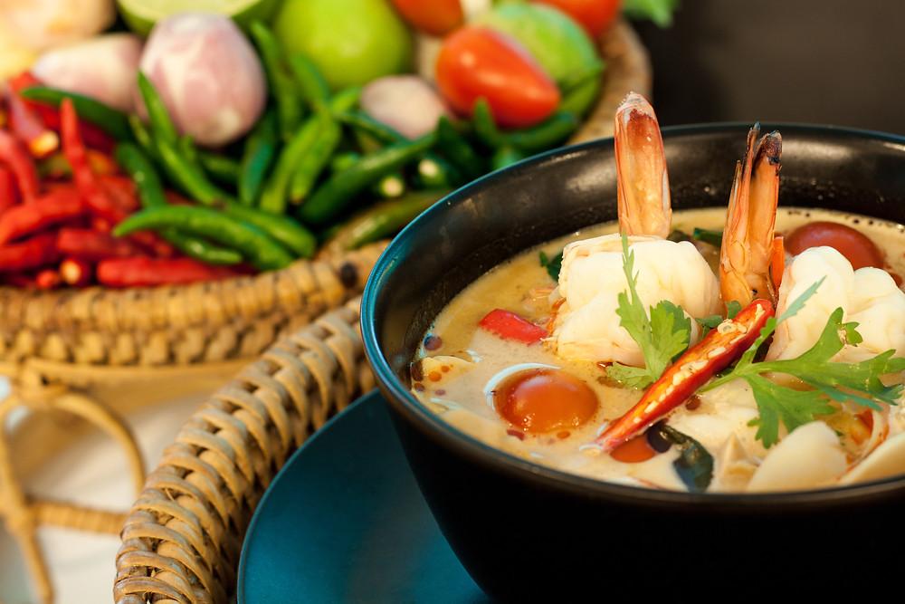 Une bonne soupe thaïlandaise - Ma Cuisine Thai
