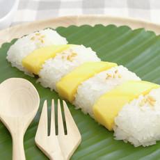 Mango Sticky Rice façon Sushi