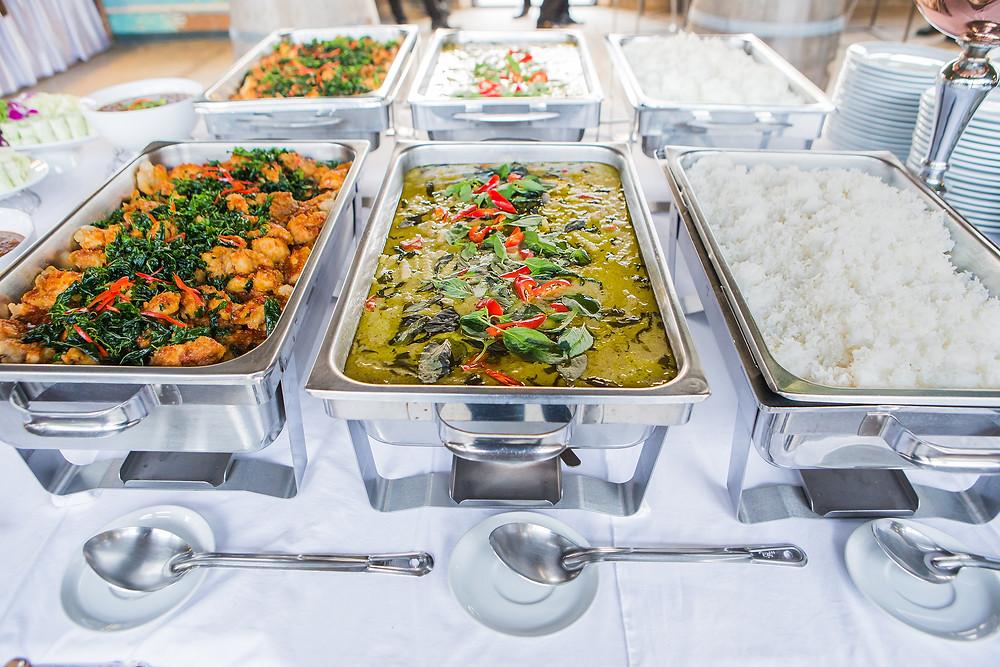 Buffet Thaïlandais - Ma Cuisine Thaï - Catering thaï food