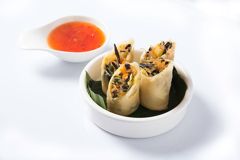 Nems thai au porc