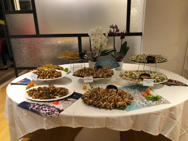 Anniversaire à thème : soirée thaï