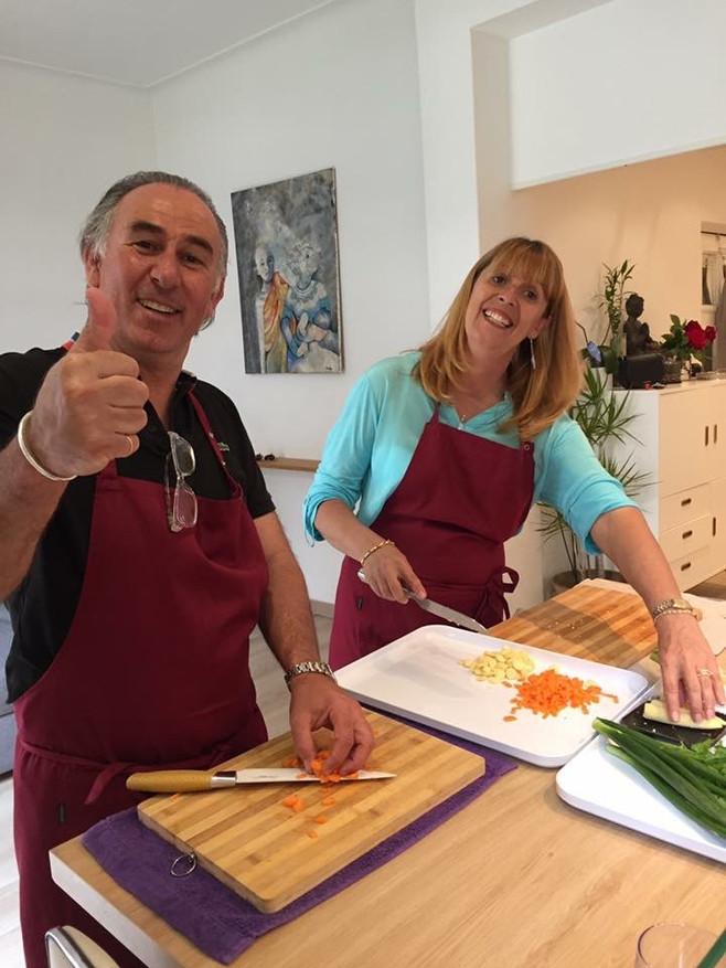 Ateliers cours de cuisine - Les participants 2016