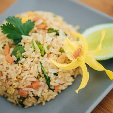 Fried rice végétables