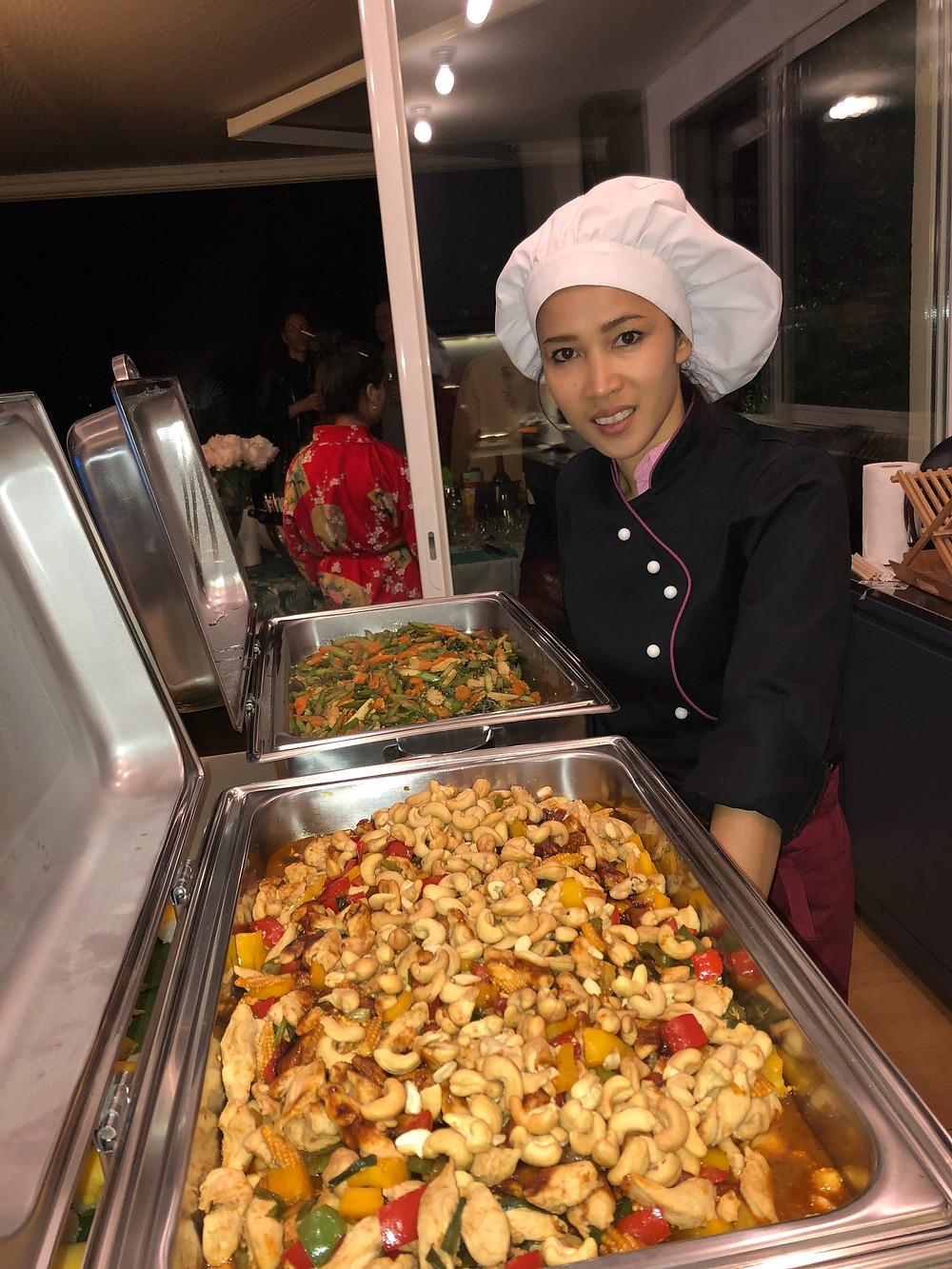 Rin, Chef traiteur thaïlandais