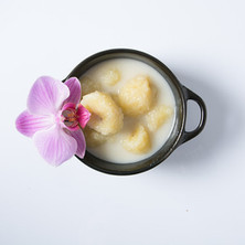 Banana coconut milk